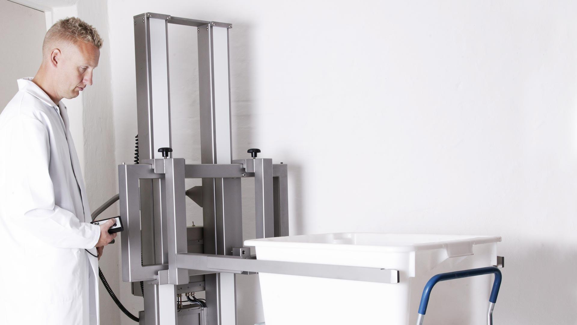 Super Hebevorrichtung: Hochwertige elektrische Minilifte und Hebehilfen DF16